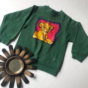 Vintage Lion King Sweatshirt